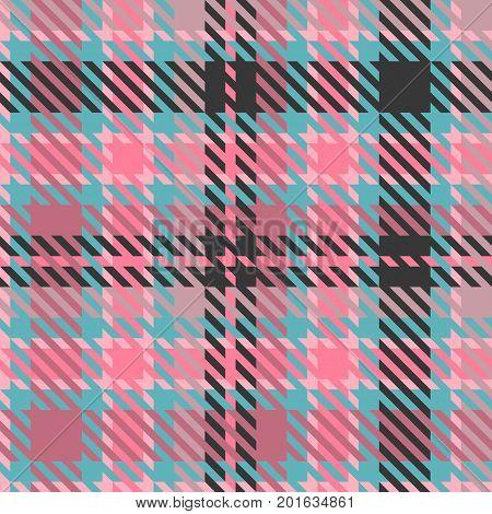 Red tartan texture fabric , seamless pattern