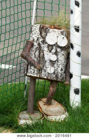 Wooden Goalkeeper