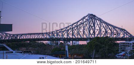 Story Bridge In Brisbane, Queensland