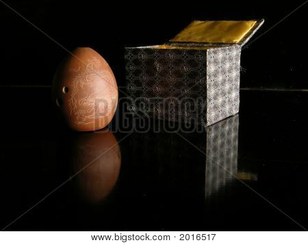 Xun, Tang Dynasty Ocarina, With Gift Box