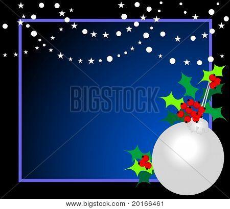 christmas frame multi colored