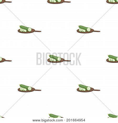 Cucumber, single icon in cartoon style.Cucumber, vector symbol stock illustration .