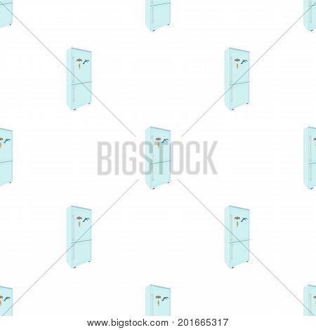 Refrigerator, single icon in cartoon style.Refrigerator vector symbol stock illustration .