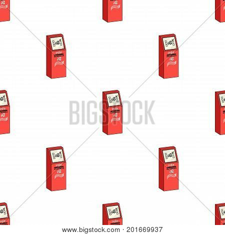 Information terminal. Terminals single icon in cartoon style isometric vector symbol stock illustration .