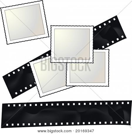 film and instant photo blank pictures