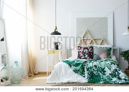 Comfy Bedroom With Soothing Colors