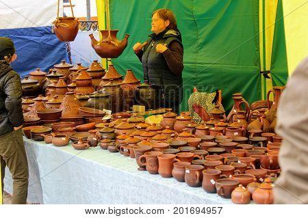 June, 2017, Odoev (Russia): Folk Festival