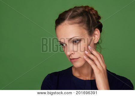 Beautiful Woman Face Portrait