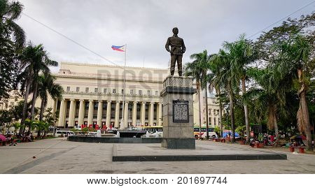 Manila Post Office In The Philippines