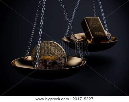 Bitcoin Price Concept Image