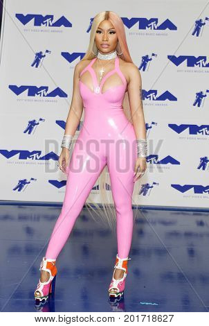 Nicki Minaj at the 2017 MTV Video Music Awards held at the Forum in Inglewood, USA on August 27, 2017.
