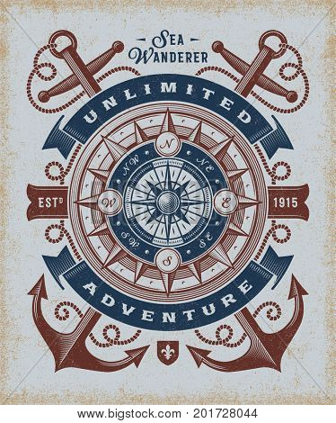Vintage Unlimited Adventure Typography