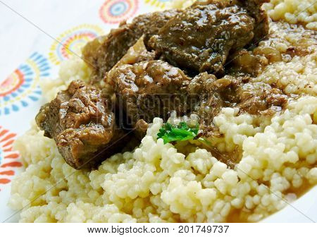 Kusksu - Couscous With Spicy Beef