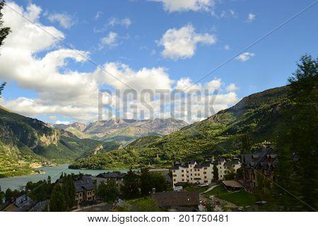 Valley of Tena. Photo taken in Huesca, Spain