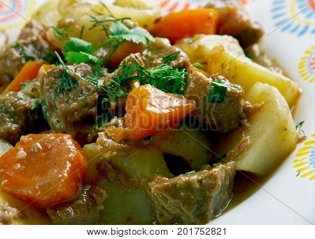 Kenyan Beef Stew