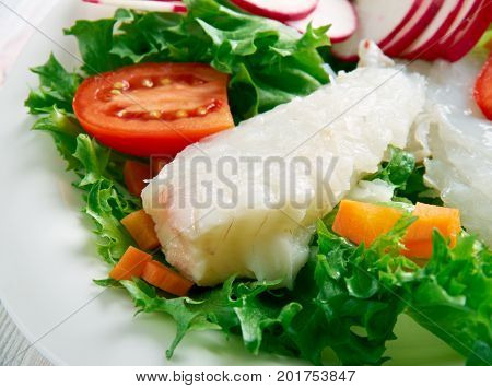 Seared Cod Salad