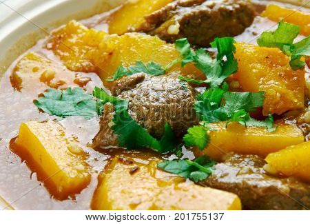 Beef and Butternut Squash Stew French cuisine