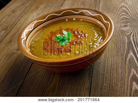 Merji shorbasi - Red lentil soup https://www.shutterstock.com/g/Fanfo/sets/13983505