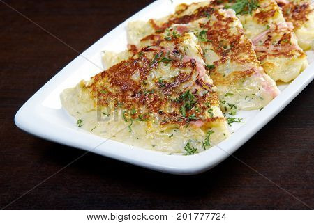 Fritters With Ham