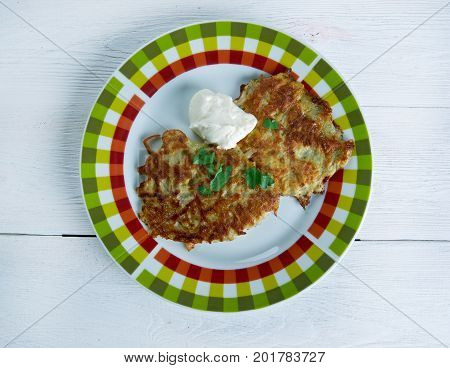 Potato Pancake  Latkes