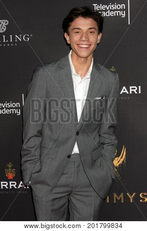 LOS ANGELES - AUG 23:  Anthony Turpel at the Daytime Television Stars Celebrate Emmy Awards Season at the Saban Media Center at the Television Academy on August 23, 2017 in North Hollywood, CA