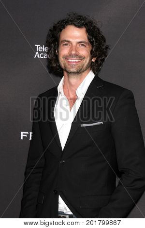 LOS ANGELES - AUG 23:  Daniel Hall at the Daytime Television Stars Celebrate Emmy Awards Season at the Saban Media Center at the Television Academy on August 23, 2017 in North Hollywood, CA