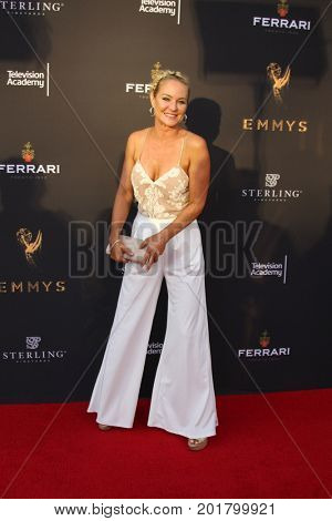 LOS ANGELES - AUG 23:  Sharon Case at the Daytime Television Stars Celebrate Emmy Awards Season at the Saban Media Center at the Television Academy on August 23, 2017 in North Hollywood, CA