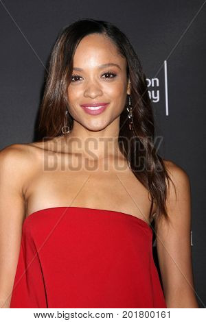 LOS ANGELES - AUG 23:  Sal Stowers at the Daytime Television Stars Celebrate Emmy Awards Season at the Saban Media Center at the Television Academy on August 23, 2017 in North Hollywood, CA