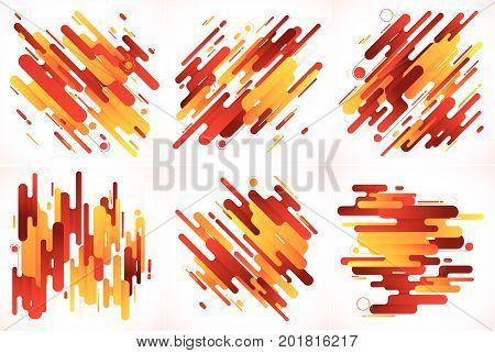Modern stripes abstract background. Suitable for your design element and background