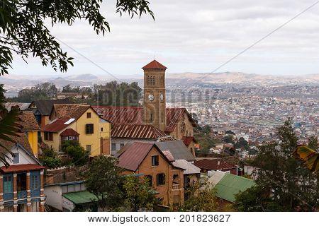 Antananarivo Cityscape, Capital Of Madagascar
