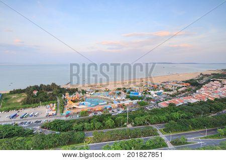Xiamen Guanyin Mountain Beach,Water World In China