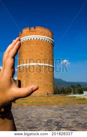 The tower in hand. Everything we can touch.