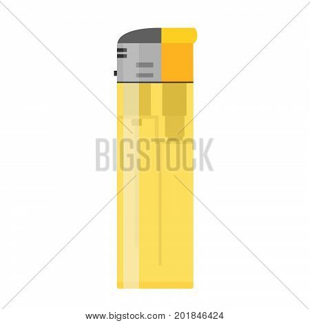 Light icon vector fire flat flame illustration gas isolated disposable object fuel light tool smoke