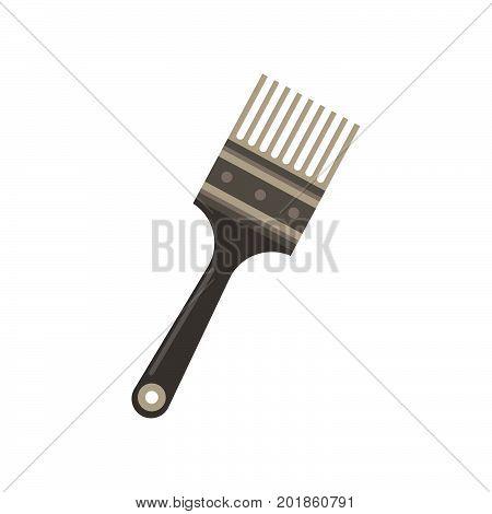 Brush paint vector stroke art ink icon design drawing background illustration paintbrush isolated