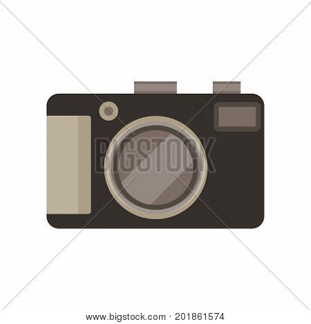 Camera photo photograph icon vector picture digital lens isolated illustration