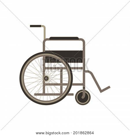 Wheelchair icon vector disabled illustration isolated handicapped symbol disability sign chair