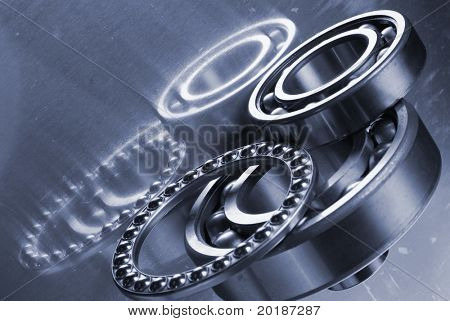selection of ball-bearings