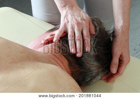 Masseur's Hands