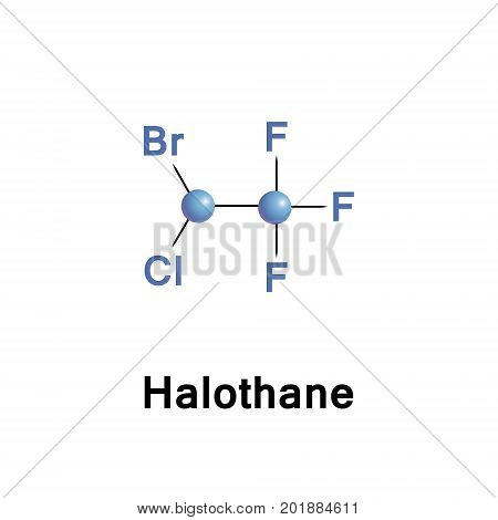 Halothane is a general anesthetic. It can be used to start or maintain anaesthesia.