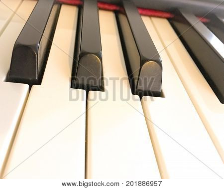 close up photo of piano keys .