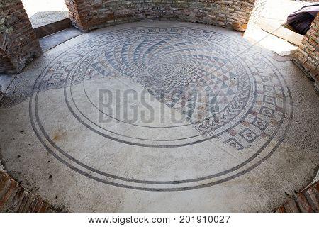 Gamzigrad Felix Romuliana Mosaic