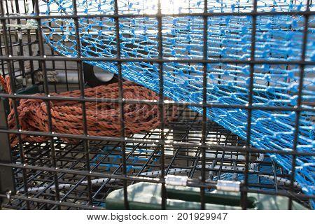 Lobster Trap Closeup