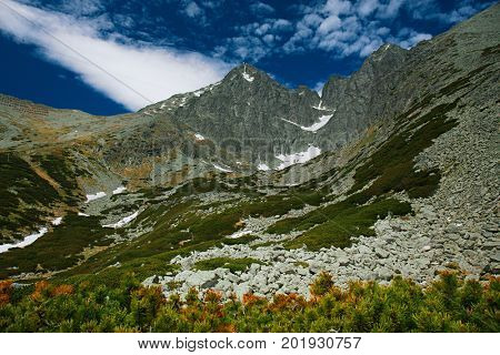 Lomnica Peak  is one of the highest and most visited mountain peaks in the High Tatras mountains of Slovakia