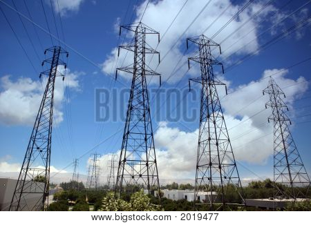 Electricity Crisis: Power Line Overload