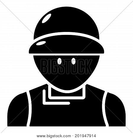 Plumber man icon. Simple illustration of plumber man vector icon for web