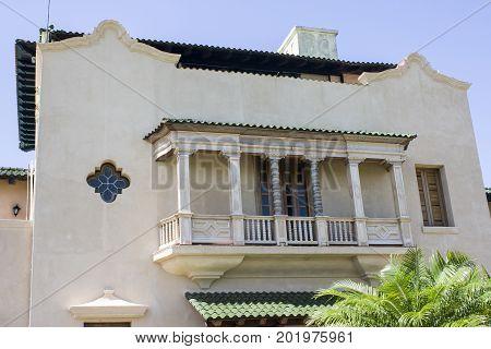 Varadero, Cuba,August 2017, Detail of the Mansion Xanadu