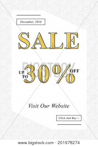 Vector Sale banner for online stores websites retail posters social media ads. Creative banner layout for m-commerce mobile promotions sale materials coupons advertising.