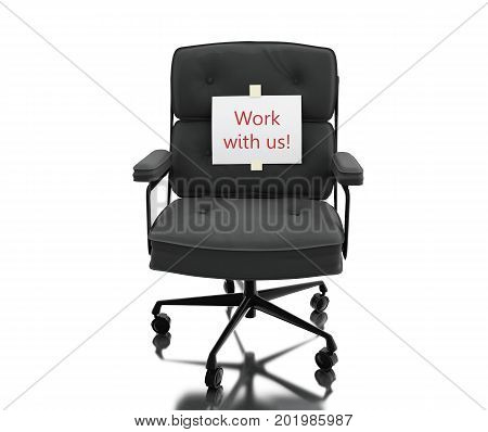 3D Office Chair With