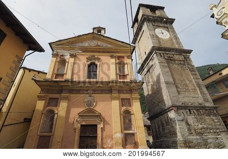St Martha Chapel In Quincinetto