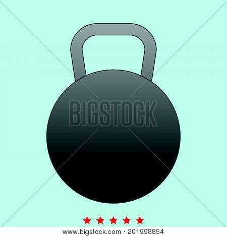 Kettlebell  It Is Icon .